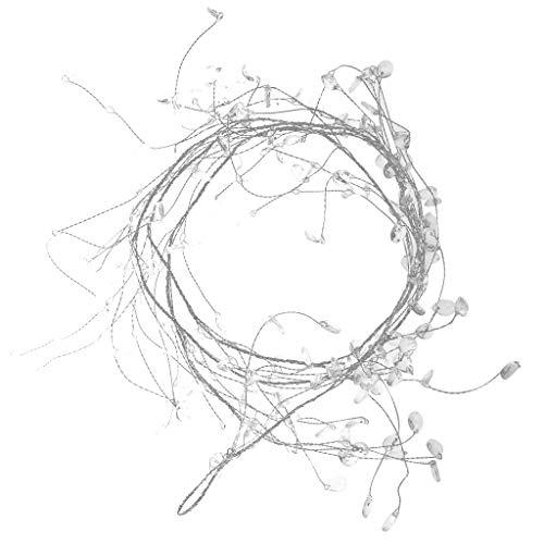 130cm Crystal Beaded Garland Wire String Wedding Floral Centerpiece