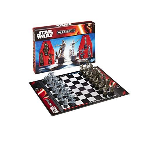 ZANZAN Juego de ajedrez The International Chess Rise Of Skywalker - Juego de ajedrez para niños