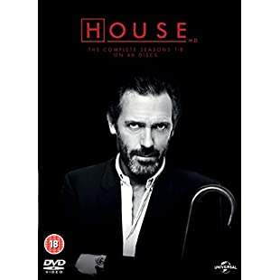 House The Complete Seasons 1-8 [DVD]