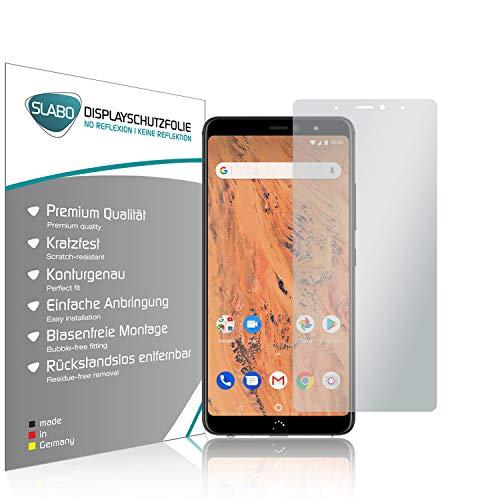 Slabo 4 x Bildschirmschutzfolie für BQ Aquaris X2 | X2 Pro Bildschirmfolie Schutzfolie Folie Zubehör No Reflexion MATT