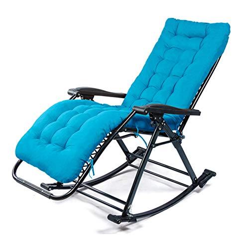 DORALO Chaise Pliante Inclinable, Chaise Longue Réglable Jusqu'à 250 Kg De Capacité De Charge, Chaise Longue Inclinable pour Piscine Patio Garden Beach, Verrouillable,J