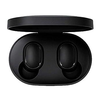 OLLIVAN for Xiaomi Redmi Airdots TWS Bluetooth 5.0 Earphone Stereo Bass Wireless Headphones 300mAh Charging Box True Stereo Sound Mini Wireless Earbuds IPX4 Sweatproof Earphones with Mic AI Control