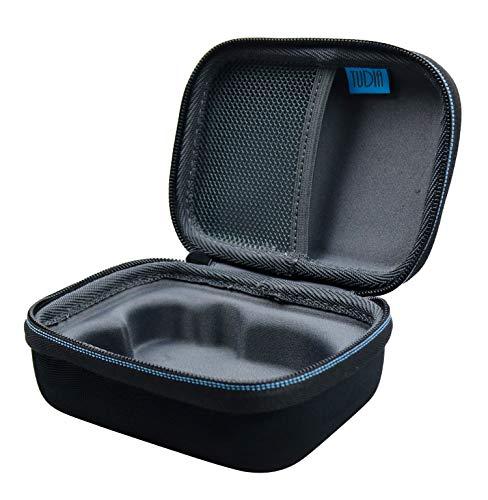 TUDIA - Funda de viaje compacta compatible con el dispositivo de tonificación facial pequeño de NuFACE, resistente al agua de EVA dura (funda solamente, dispositivo no incluido)