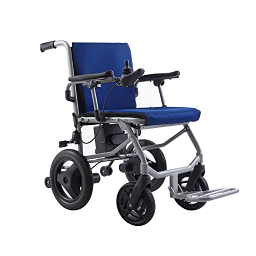World's Lightest (Weight-30lbs) Foldable Electric Wheelchair, Travel Size,...