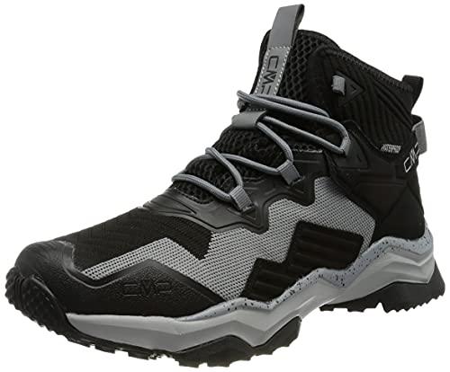 C.P.M. Yoke Wmn WP Hiking Shoe, Scarpa da Trekking Donna, Nero/Grey, 36 EU