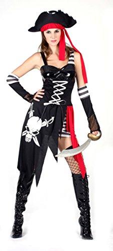 Disfraz de corsaria pirata sexy para mujer