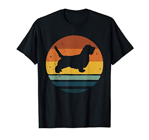Pett Basset Grifón Vendeen Vintage Mamá Papá Perro Retro Camiseta