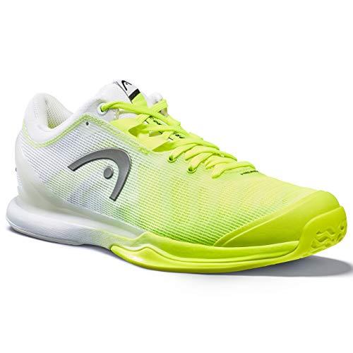 HEAD Herren Sprint Pro 3.0 Tennisschuh, neon gelb/weiß, 38.5 EU