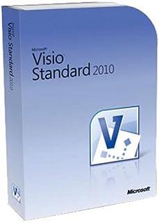 Microsoft Visio Standard 2010, 1 lic - Software de gráficos (1 lic, 1 usuario(s), 2000 MB, 256 MB, 500MHz)
