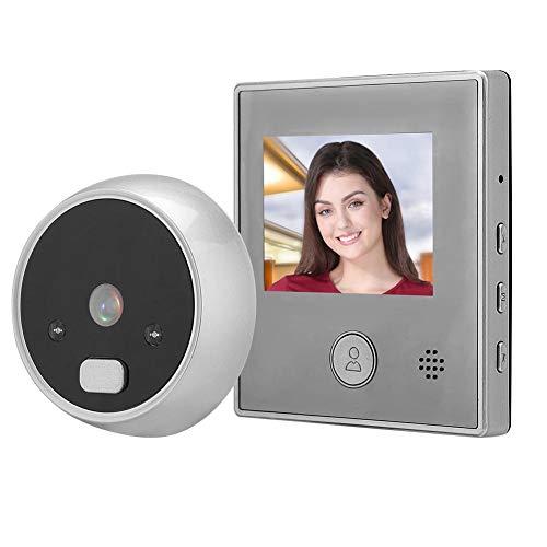 Hakeeta Intelligente deurbel met 2,8-inch TFT-scherm, camera en 135 graden groothoeklens. Intelligente deurbel: binnenbel en buitenbel.