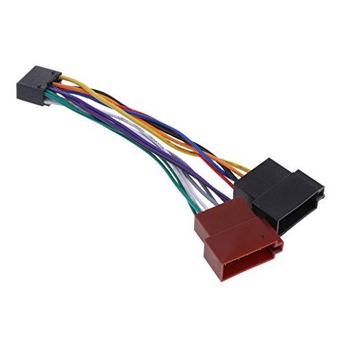 Adaptador Del Arnés De Cable De 16 Pin ISO Para La Radio...