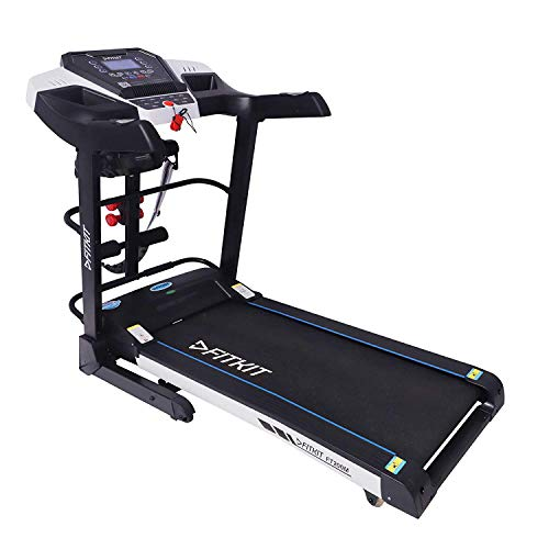 Fitkit FT200M Series (4.5 HP Peak) Motorized Treadmill withFree Dietitian,Personal Trainer, Doctor...
