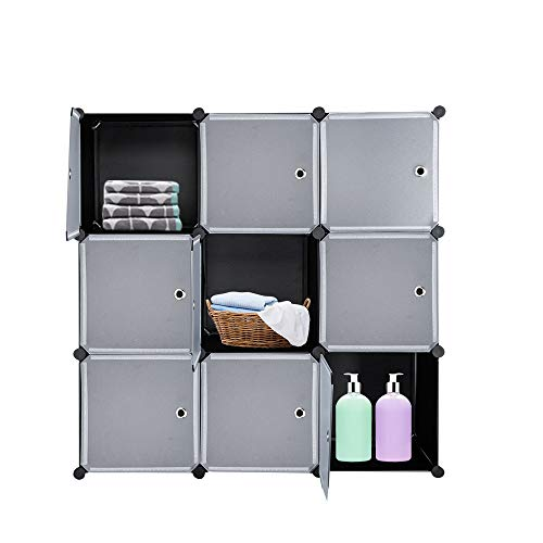 Closet Storage Organizer with 5 Drawers Wooden Top VINGLI Dresser Organizer Chest Modern Clothes Dresser Tower for Bedroom Brown Easy Pull Fabric Bins Hallway Nurseries w//Sturdy Mental Frame
