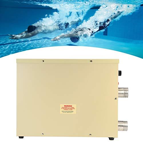 Schwimmbadheizung, Thermostat Elektrischer Warmwasserbereiter durch Umlaufheizung Tür SPA Thermostatheizung Whirlpool Zubehör SPA