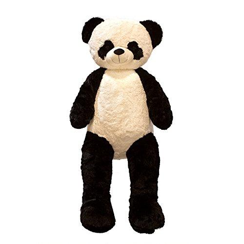Lifestyle & More Orsacchiotto Gigante Panda Orsetto Panda Peluche XXL Alto 150 cm Peluche Orsetto Morbido Vellutato - da Amare