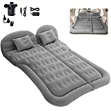 MIUOPUR SUV Air Mattress, Inflatable Car Air Bed with Air Pump for Home and Car, Camping Travel Bed with Pillow, Portable Air Mattress is Suitable for Home, Mamping, Car Back Seat and SUV, MPV, Truck