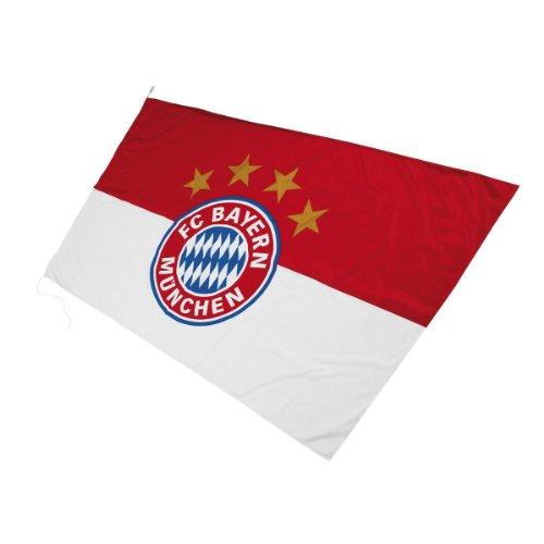 Markenhersteller - Bandiera con logo del Bayern Monaco, 250 x 150 cm