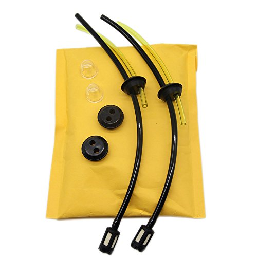 SWNKDG 2ps Universal Kit de filtros de gasolina Tubo Sello para cepillo cortador...
