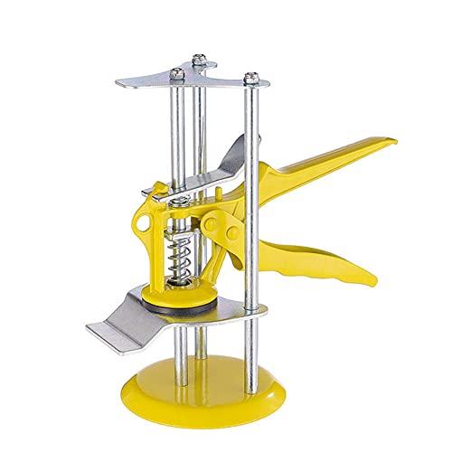 BAWAQAF Regulador de altura Baldosas Localizador de precisión Herramienta de elevación de nivelación de pared Herramienta de mano construida brazo de ahorro de mano