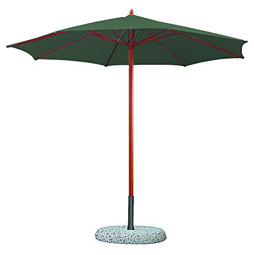 ombrellone da giardino verdelook VERDELOOK Ombrellone in Legno a carrucola