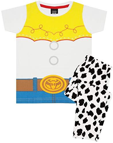 Toy Story Jessie Cowgirl Costume Girl's Kid's Pyjamas Nightwear Set White