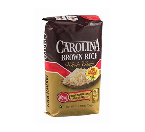Carolina Brown Rice Whole Grain 16 Oz Pack Of 3