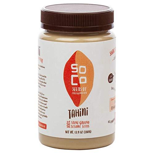 SoCo All Natural Sesame Tahini |Perfect For Making a Creamy...