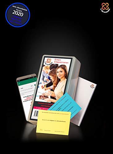 Lernkarten (673 Stück, gedruckt A7) + App + Box für den Fachwirt im Gesundheits- und Sozialwesen | Auflage 2020 | Komplettsatz mit allen 6 Fächern