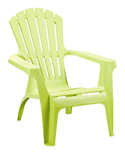 PROGARDEN Sedia Dolomiti Deck Chair, Verde