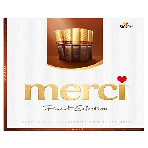 Merci Finest Selection Herbe Vielfalt Schokoladengenuss 250g 5er Pack