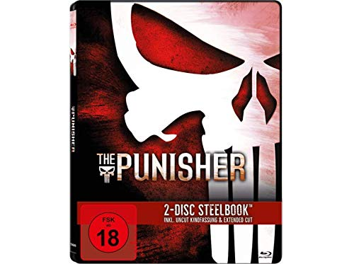 The Punisher [Limited Steelbook] Uncut Kinofassung + Extended Cut