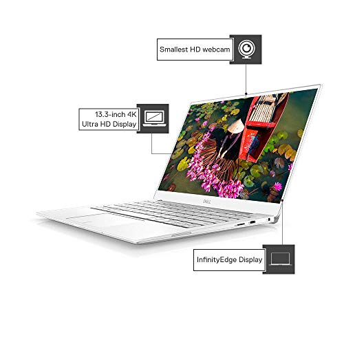 Dell XPS 7390 13.3-inch FHD Thin & Light Laptop (10th Gen Core i5-10210U/8GB/512GB SSD/Win 10 + MS Office/Integrated Graphics) White