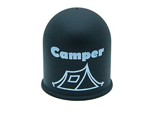 Schutzkappe Anhängerkupplung Blickfang Campingplatz Glamping Zelt Tent schwarz