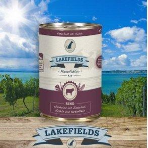 Lakefields Dosenfleisch-Menü Weiderind 400g (18 x 400g)