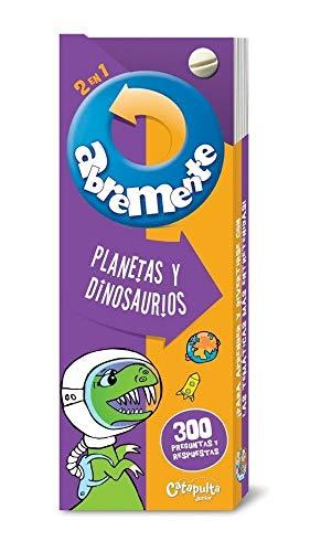 Abremente 2 en 1. Planetas y dinosaurios