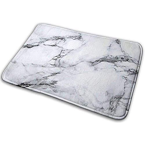 Joe-shop Organische Graniet Marmeren Tegel Geheugen Schuim Badmatten Niet Slip Zachte Absorberende Bad 40 * 60CM
