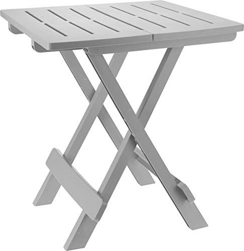 Spetebo Adige Folding Table Small Garden or Camping Table Ideal as Side Table
