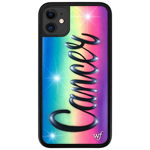 Wildflower Limited Edition Cases Compatible with iPhone 11, Zodiac Collection (Cancer)