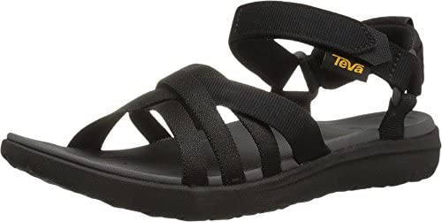 Teva Women s Sanborn Sandal Black 7 Medium US product image