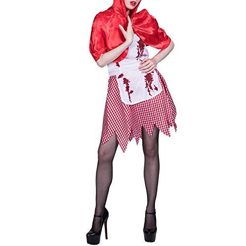 boknight Zombie Doktor Zombie Krankenschwester Zombie Rotkäppchen Halloween Kostüme Unisex