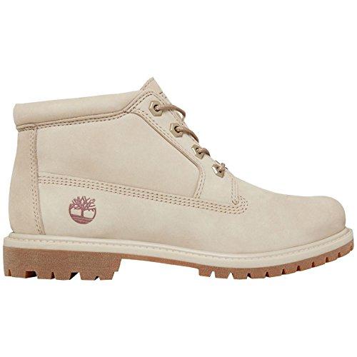 Timberland Damen Nellie Double Collar Chukka Boots, Rosa (Pure Cashmere Waterbuck K51), 40 EU