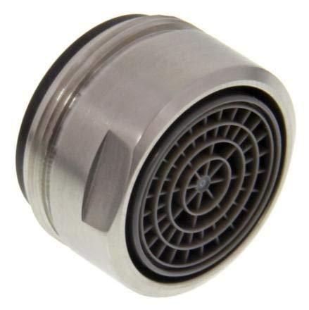 BLANCO Strahlregler HD AG M24x1 Edelstahl gebürstet, Hochdruck