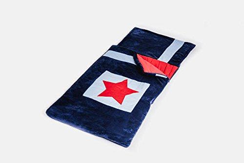 Sac de couchage pour enfant – Bleu marine Star Snuggle Sac