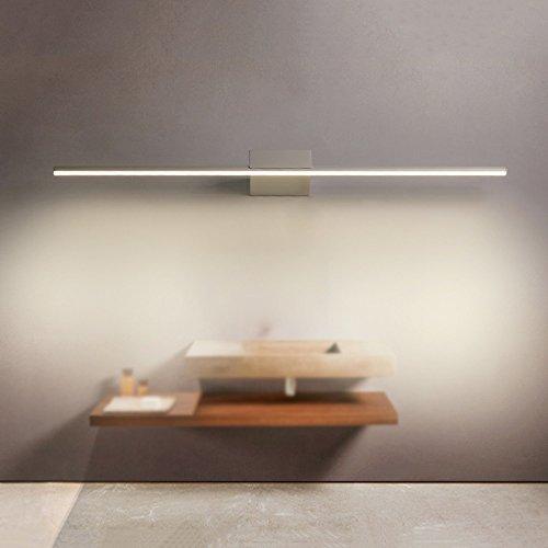 Slaapkamer Armaturen Modern Minimalist ultra-dunne waterdichte anti-fog 8 / 12W led wit licht Mirror Light Badkamer Wandlamp Kabinet Vestiaire Garderobe Inrichting Spiegel Lamp Diepte: 18cm Wandlamp V