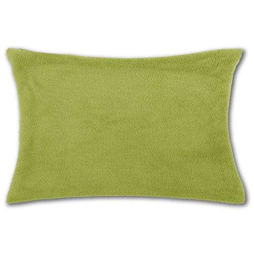 Bestlivings Kussensloop Kuschel 40 x 60 ohne Füllung groen - olijfgroen