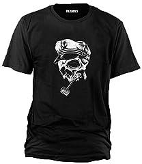 Camiseta Wolkenbruch con calavera de marinero, distintoscolores, tallas: S hasta XXXXXL