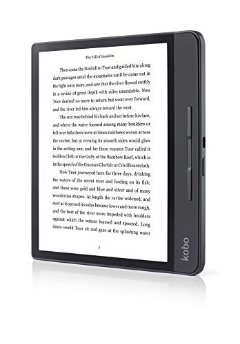 Rakuten Kobo Form E-Book-Reader Touch Screen 8 GB WLAN Schwarz