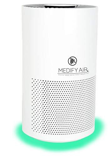 Product Image of the Medify MA-Smart Medical Grade H13 True HEPA Filtration Air Purifier for 500 sq ft | (99.97%) | Particle Sensor with Light Indicator | 3-in-1 Filter