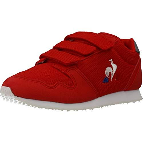 Le Coq Sportif Unisex-Kinder Jazy Ps Sneaker, Reines Rot/Titan, 30 EU