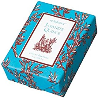 Seda France Classic Toile Japanese Quince Paper-Wrapped Bar Soap 6oz